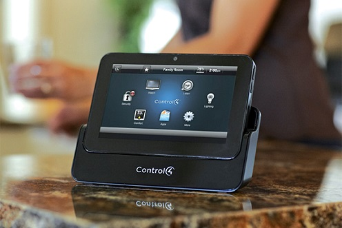 Home Automation Control on Kitchen Counter