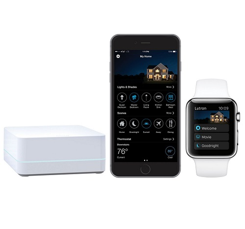 Lutron Caseta Wireless Dimmer App for iOS
