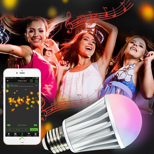 MagicLight Light Bulb and Smartphone App