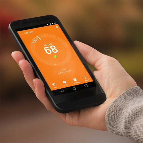 Nest Learning Thermostat Mobile App