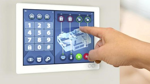 Smart Home Security TouchScreen Alarm