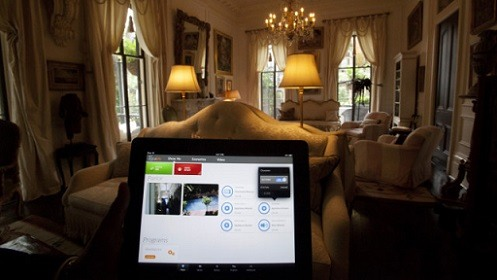 Home Automation on Tablet