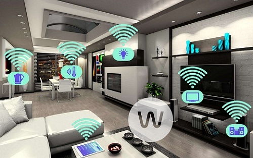Home Automation in Living Room