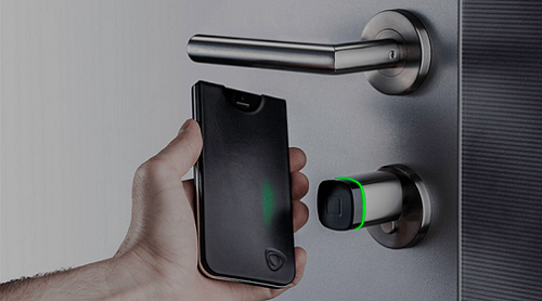 Smartphone as Key for Smart Home Door Locks