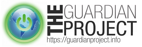 Guardian Project Logo and Homepage Adress