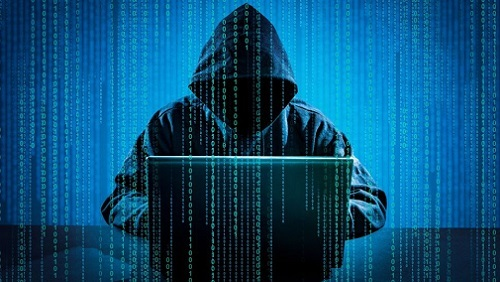 Hacker over Matrix Type of Cover