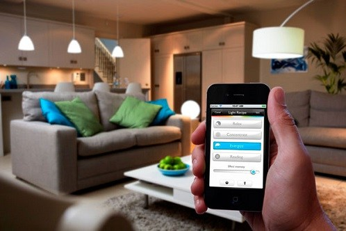 Light Automation by Smartphone