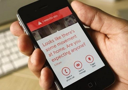 Smartphone Message from Smart Security