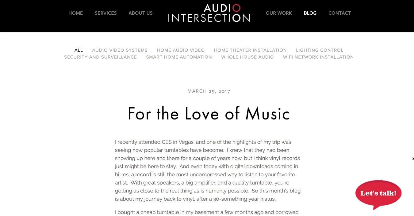 Audio-Intersection