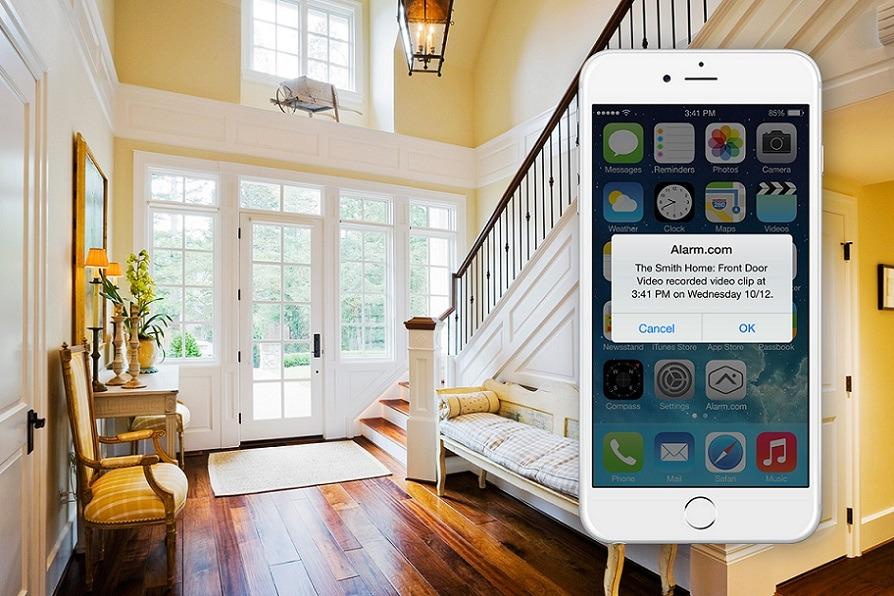 smart home alarm system can save a life. Black Bedroom Furniture Sets. Home Design Ideas
