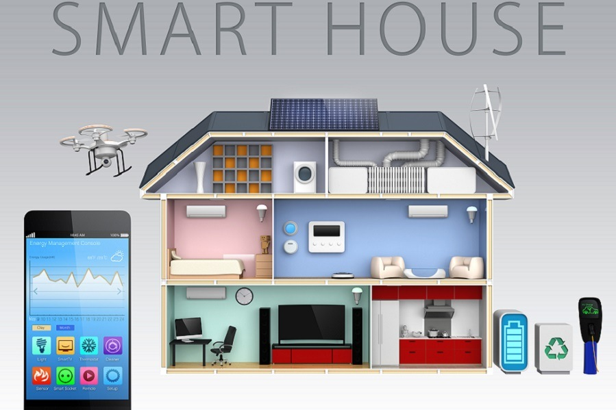 Smart House with Smartphone Control