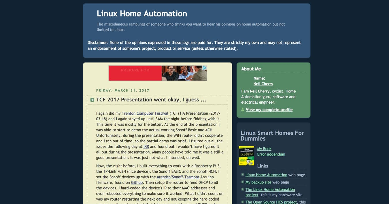 Linux-Home-Automation