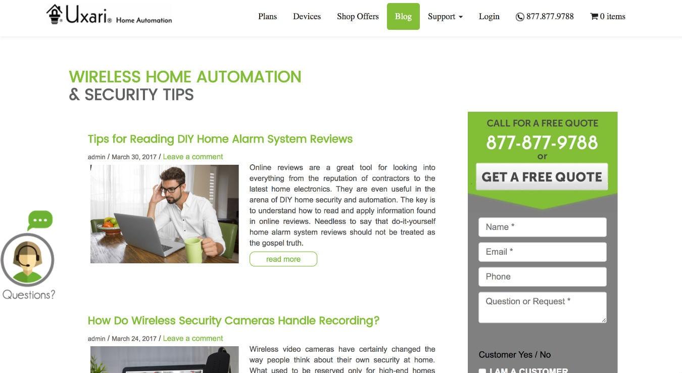 Top 107 Smart Home & IoT Websites