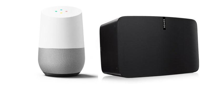 ok google work with sonos. Black Bedroom Furniture Sets. Home Design Ideas