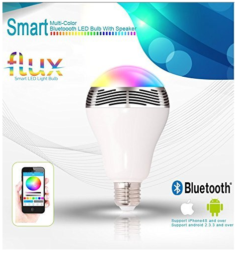 Flux Melody Bluetooth Speaker Light Bulb