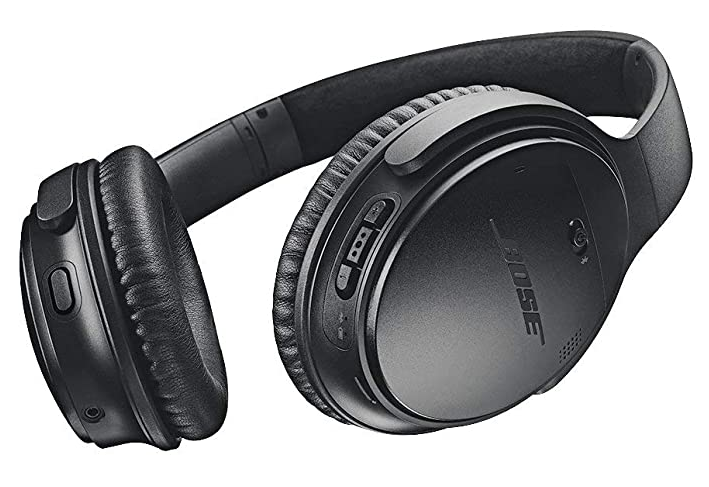 Bose QuietComfort 35 II Wireless Bluetooth Headphones, Noise-Cancelling