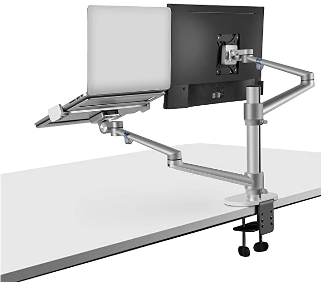 Monitor and Laptop Mount Tablet Holder,