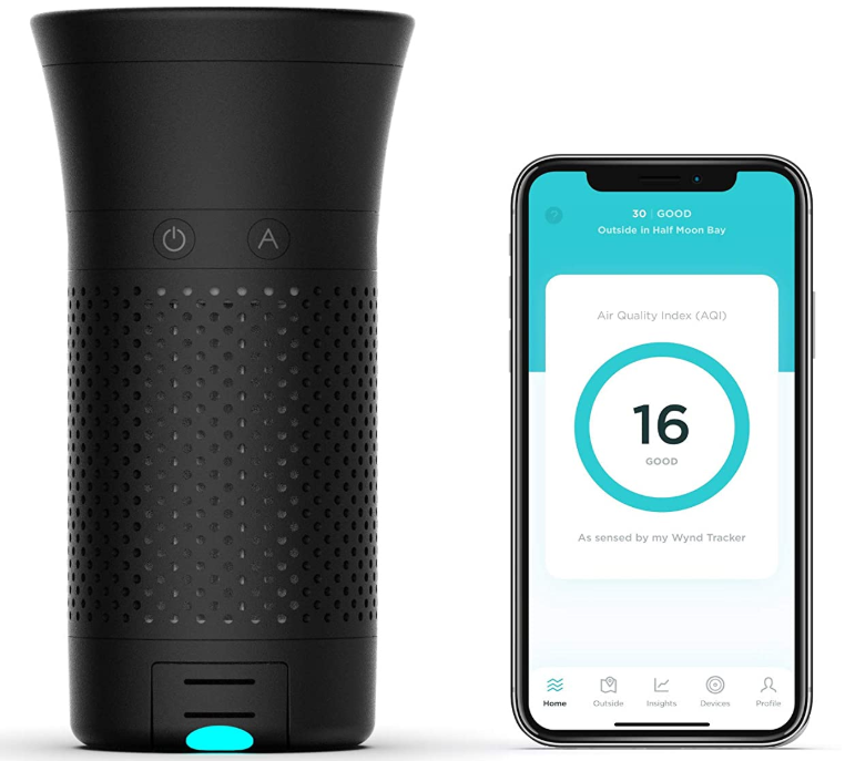 Wynd Plus – Smart Portable Personal Air Purifier